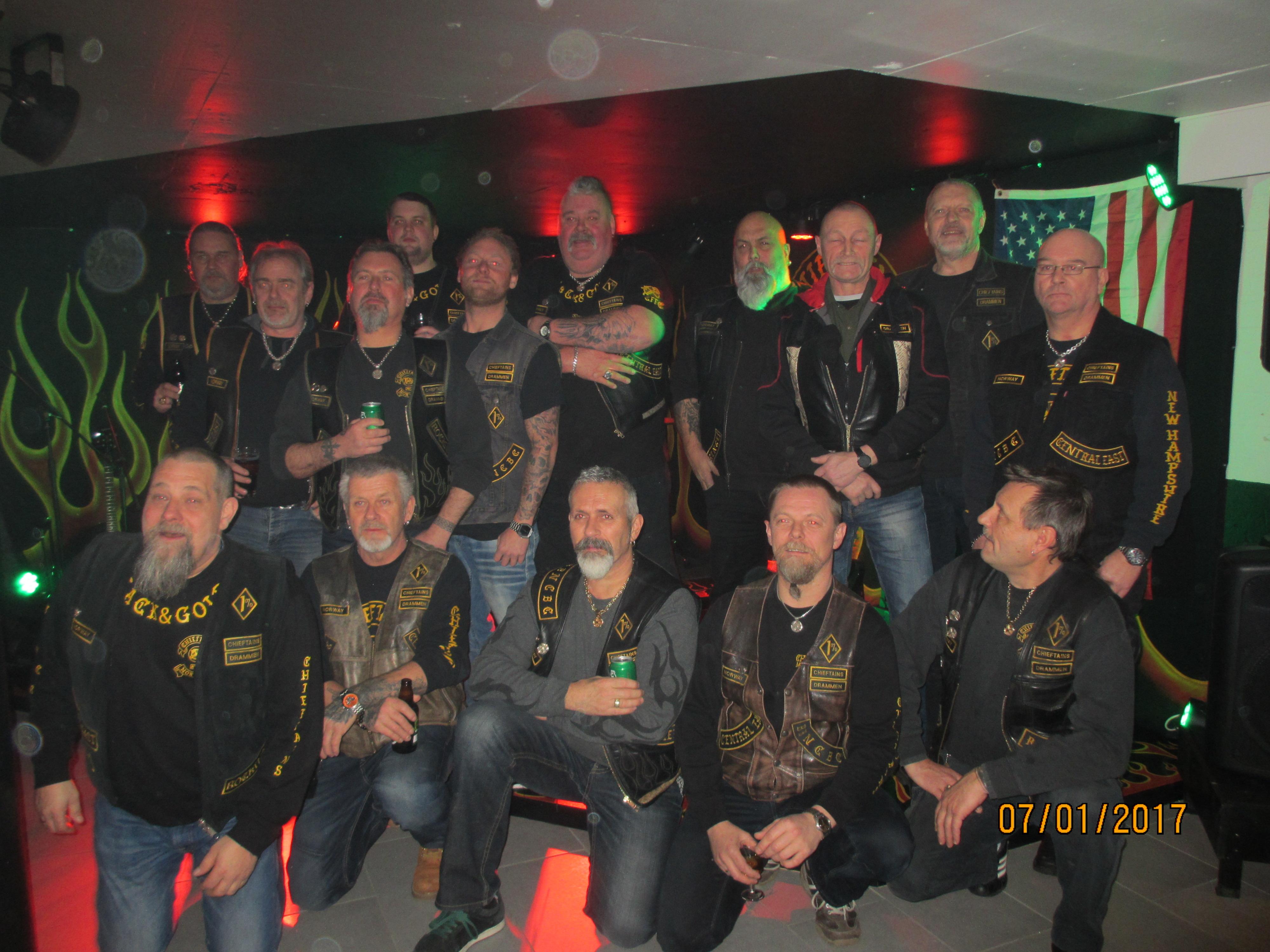 Årsmøte på klubben 2016